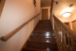 Stairs up to 2nd floor